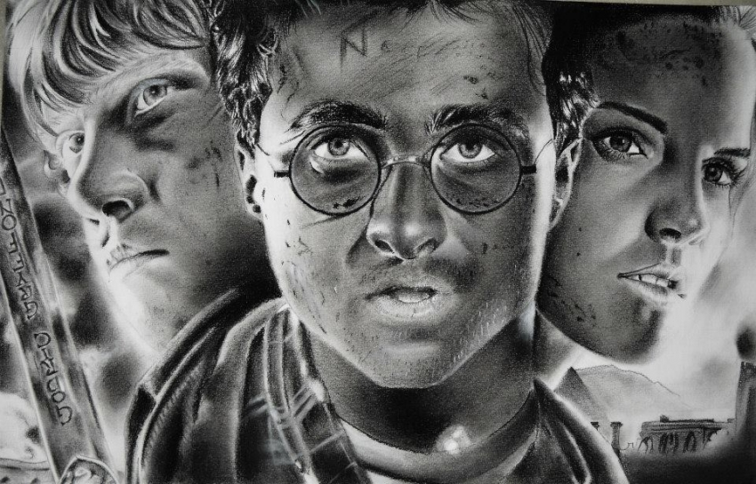 Daniel Radcliffe par FlosDrawing